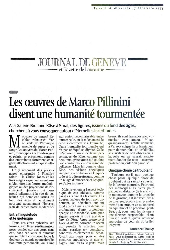 Journal de Genève 1995
