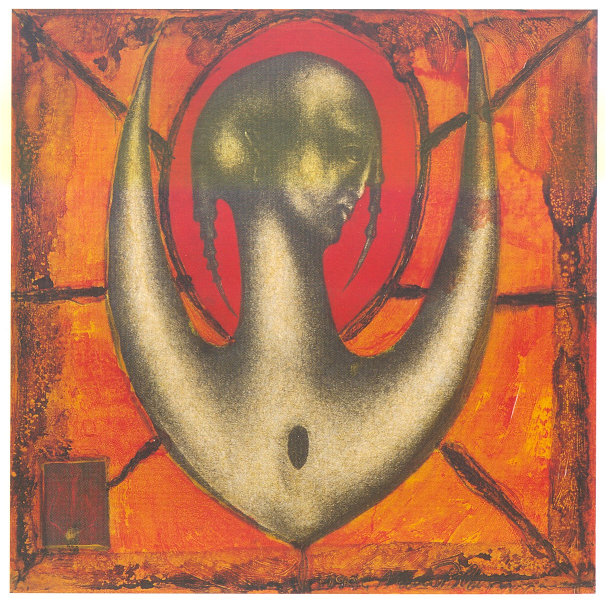 Sans titre 15 x 15 cm. 1994. Vendu.