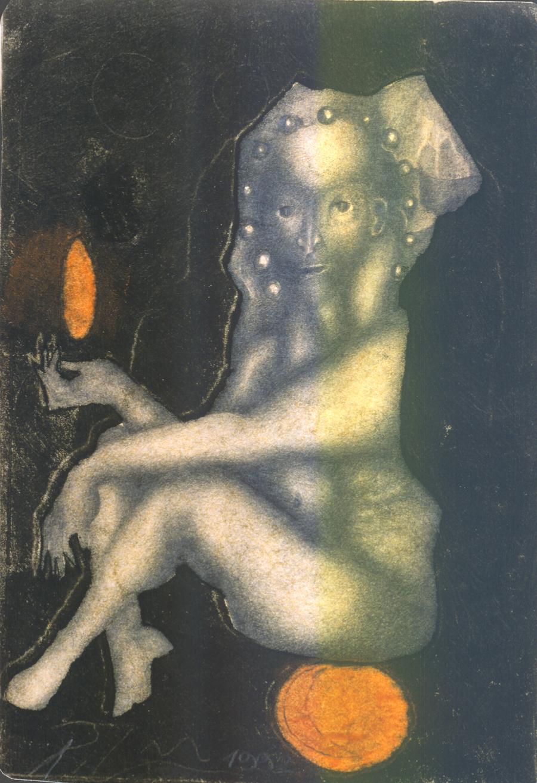 Sans titre 29 x 21 cm. 1992.