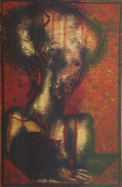 Sans titre 31 x 21 cm. 1994.
