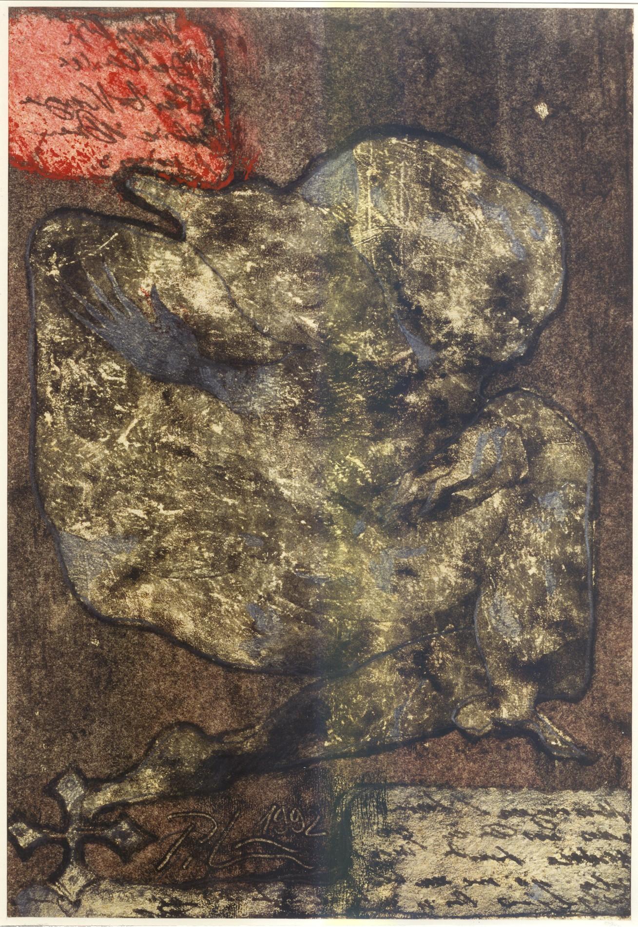 (Sans titre). 30 x 21 cm. 1992.
